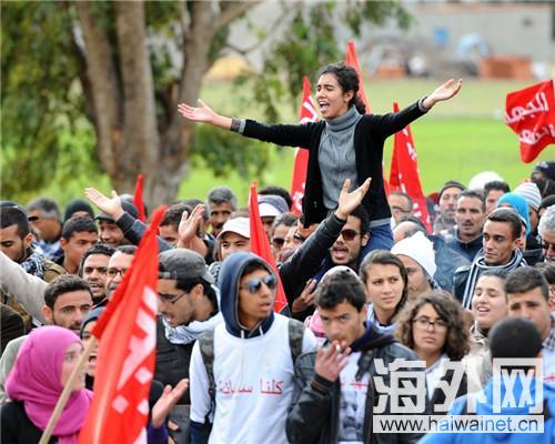 阿尔巴尼亚举行反