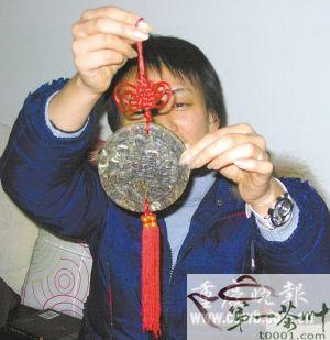 茶叶做成的中国结茶叶礼品