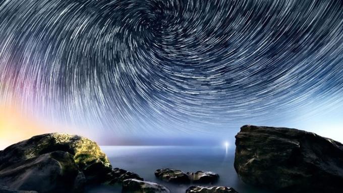 星空摄影美轮美奂