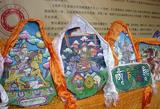 藏族格萨尔彩绘石刻