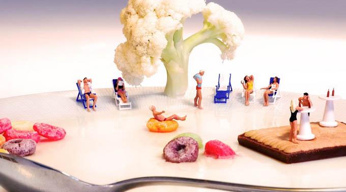 食物打造的花样微观世界