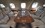 成龙2亿私人飞机曝光 内部奢华