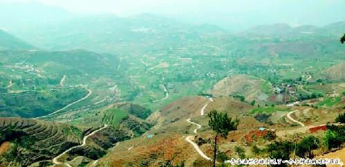 农村山上风景图片