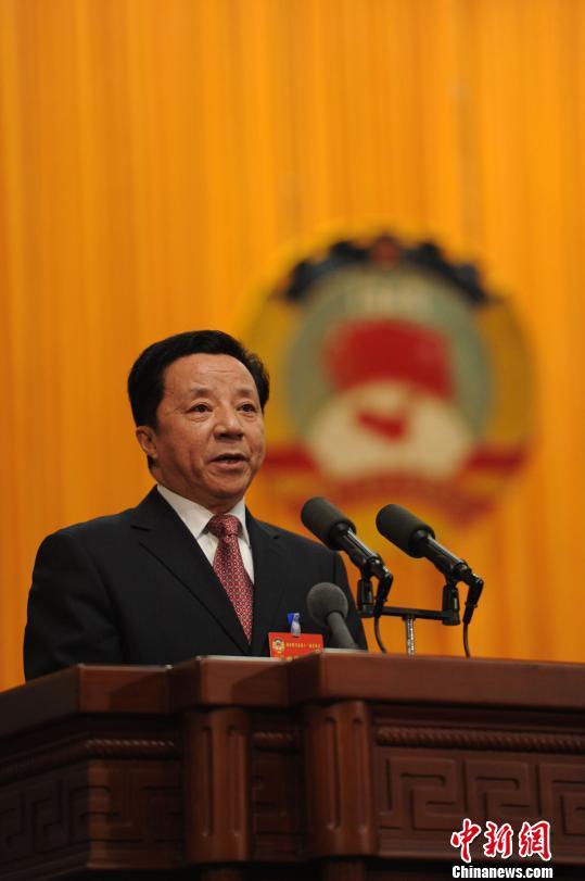 政协四川省十一届二次会议开幕