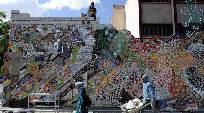 叙利亚环保壁画:重燃生活的希望