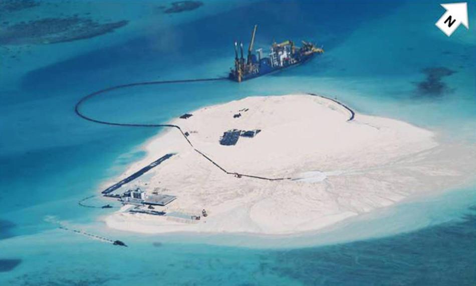 菲律宾称中国在南沙填海建机场