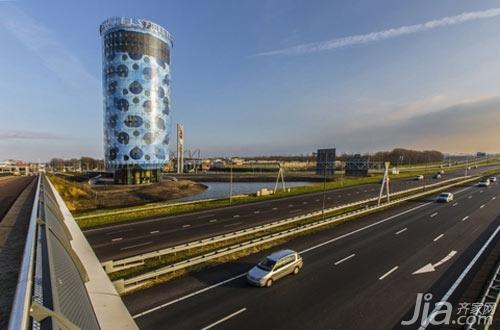 Fletcher Hotel:来自未来的超时空建筑