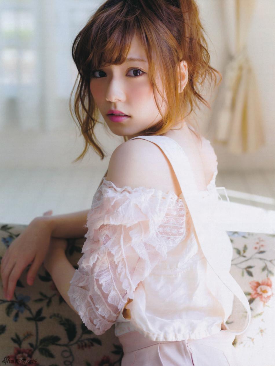 akb48萌妹岛崎遥香甜美写真 似宫廷芭比娃娃