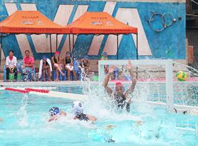 全国青少年女子水球锦标赛在乐山落幕