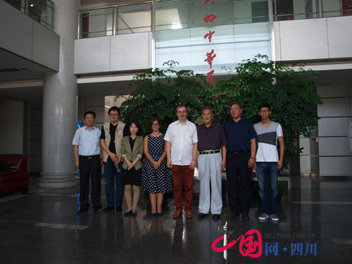 国际防雷专家访问四川中光防雷科技公司