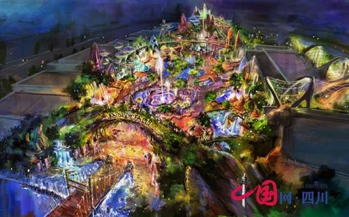 总体规划,概念设计,将突出极地海洋主题特色,营造全方位的休闲娱乐