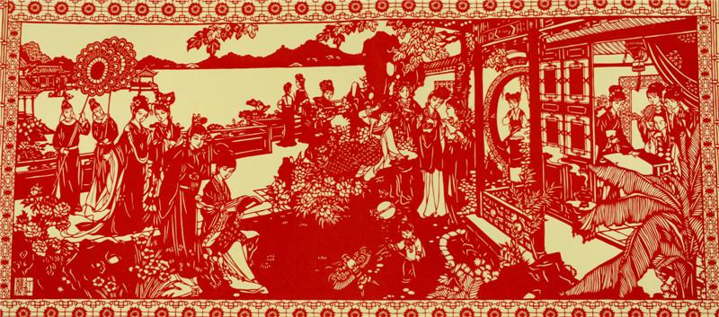 传统民间剪纸