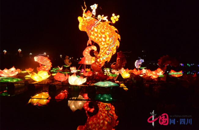 2016南充彩灯文化狂欢节 4月29日璀璨开灯 持续到6月12日