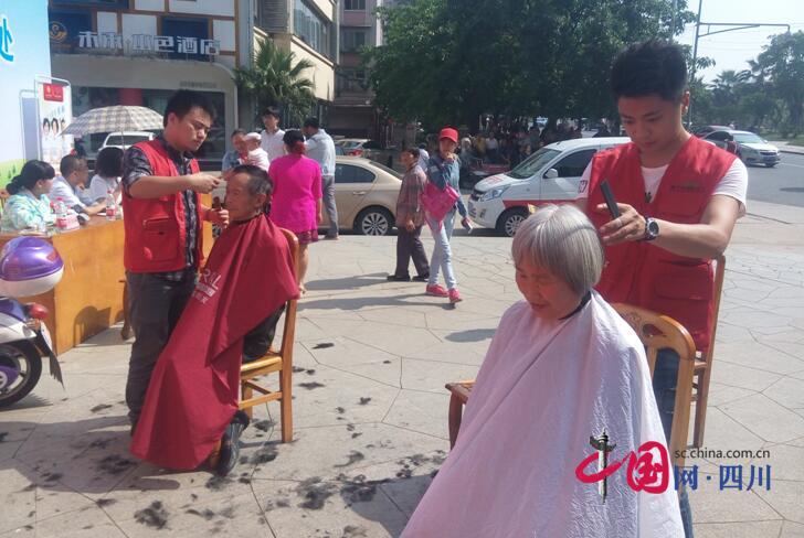 """嘉禾街道第三届""""社区节""""开幕"""