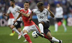 欧锦赛A组尘埃落定 法国、瑞士携手出线