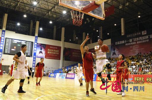 苍溪县第十一届篮球联赛县城组比赛结束