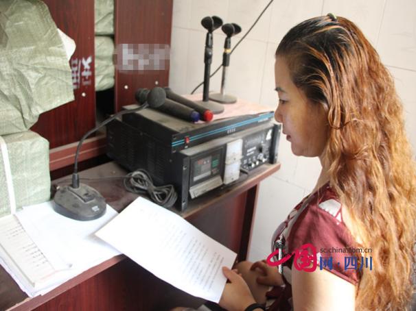 安居消防大队依托农村广播系统平台向群众宣传消防安全知识