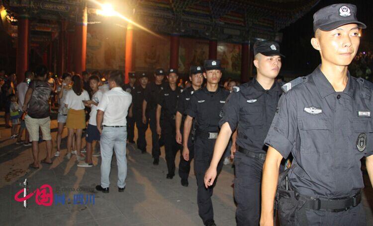 """河东公安分局为灵泉寺""""6.19香会节"""" 安保护航"""