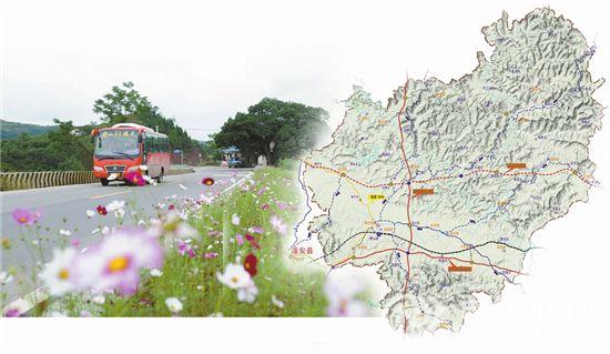 清西大桥及连接线 规划图