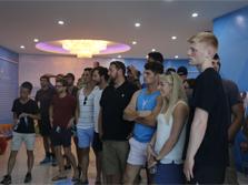 中外青年领略新津国际名校挑战赛风采
