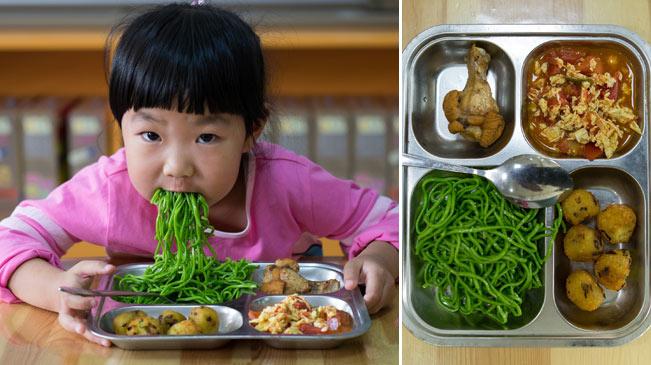 美味极了!看孩子的午餐 胃口大开
