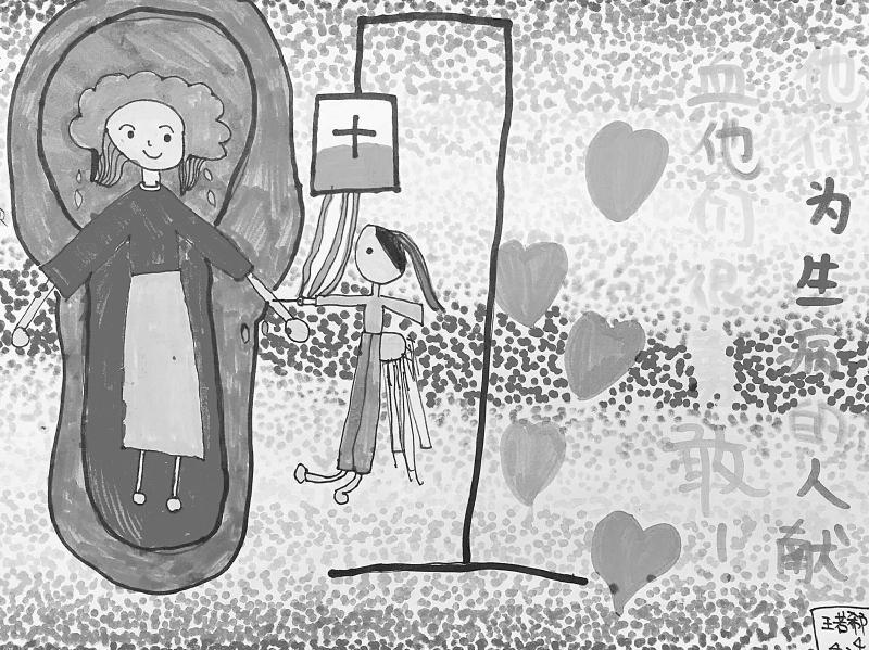 """9月19日,成都市血液中心联合华西都市报共同发起的""""筑爱少年,热血行动""""第一届成都市小学生无偿献血主题绘画比赛投稿正式截止,来自全省的300多个孩子用画笔阐释了他们对无偿献血的理解和对献血志愿者的敬意。接下来,专业人士将对全部作品进行评选,获奖作品和颁奖日期将于近期公布。 实际上,很多参与活动的孩子的父母就是无偿献血的志愿者。南充的黄先生就是其中之一。五年以来,他每年都会参与一次无偿献血,这已经成了他的""""习惯""""。受父亲影响,黄先生上小学六年级的孩子也主动参"""