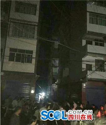 达州宣汉黄金镇一民房垮塌续:4人遇难