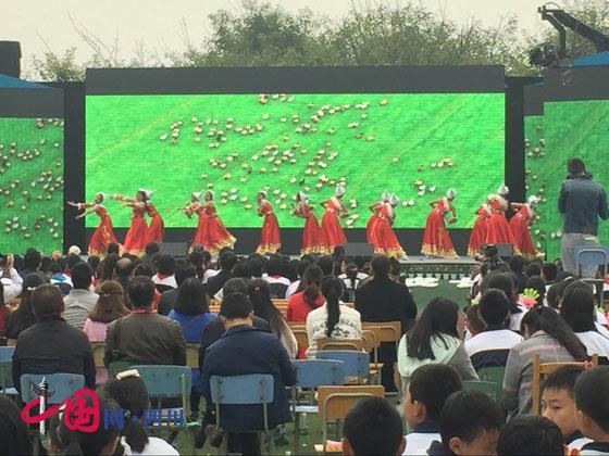 蒲江县乡村学校少年宫参加成都市乡村学校少年宫成果展