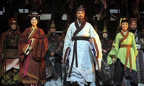 大型歌舞劇《陳壽夢魂三國》今晚首演