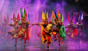 2017年阿坝州藏羌戏曲进校园活动在阿坝师院启动
