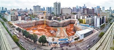 成都城市音樂廳主體工程全面啟動