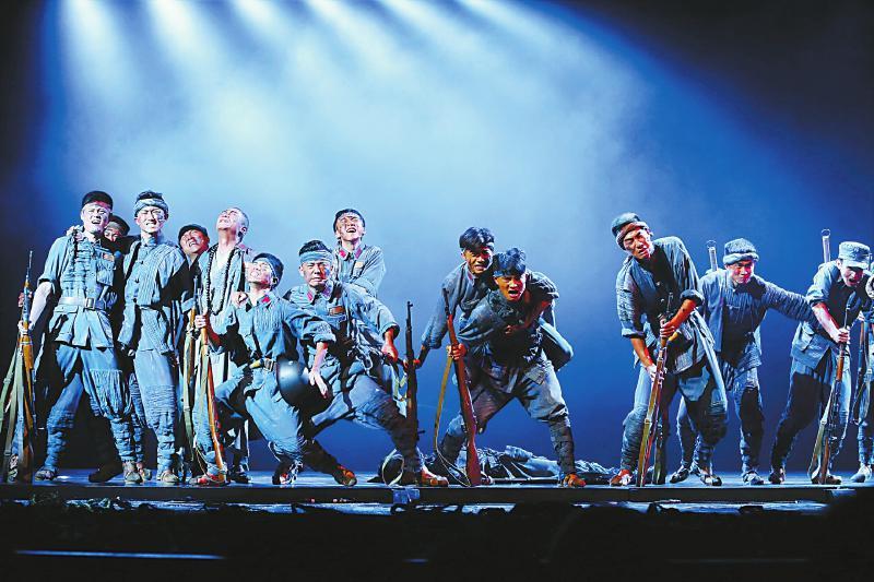 真实人性演绎川军群像 大型音乐剧《我是川军》蓉城首演