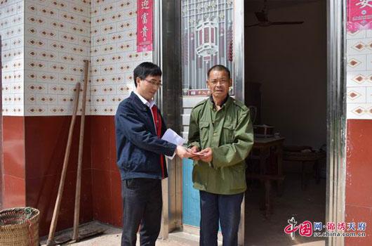 蓬安县供电公司一对一牵手 定制脱贫帮扶计划
