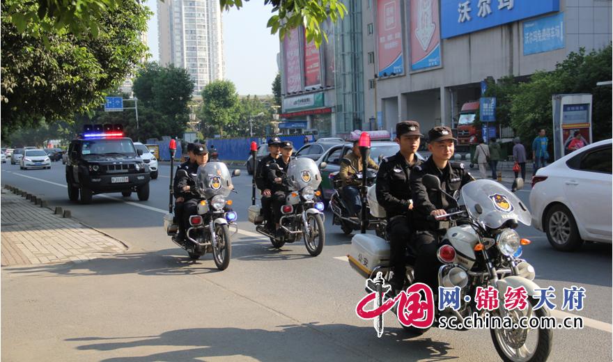 """遂宁公安民警""""五一""""24小时坚守岗位 保平安"""