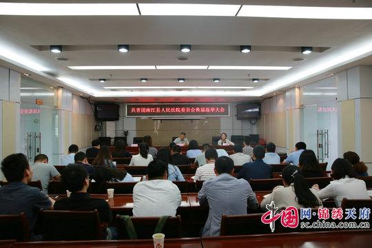 南江法院成功召开团委换届选举大会