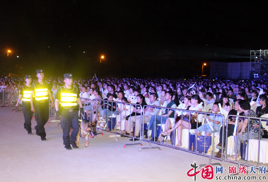 河东新区公安分局圆满完成费翔演唱会安保任务