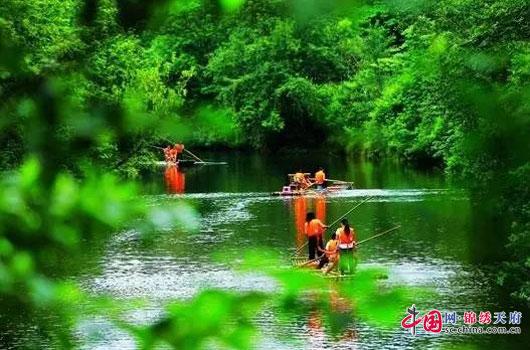 南充阆中杨家河美景 吸引市摄影家协会会员集体采风