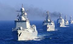 """中国海军""""高调""""行动?谈不上!"""