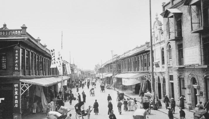 1924年的春熙路:满眼都是小洋楼